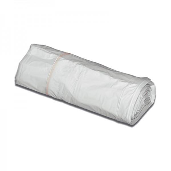 Sac poubelle basse densité 35µ - transparent - 110 L - Carton de 8 x 25 sacs