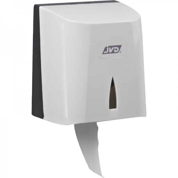 Distributeur de papier hygiénique mixte - pour 1 rouleau ou 2 paquets
