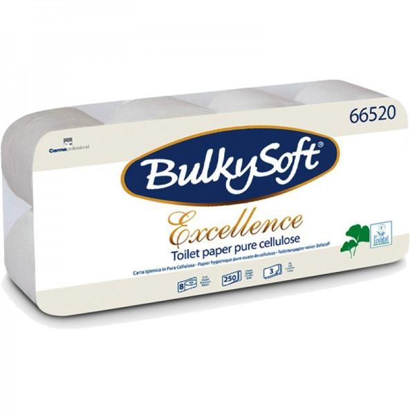 Papier hygiénique luxe pure ouate blanche molletonné 3 plis
