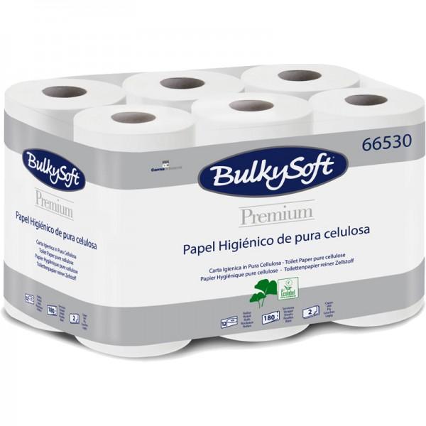Papier hygiénique pure ouate blanche gaufrée 2 plis 180F