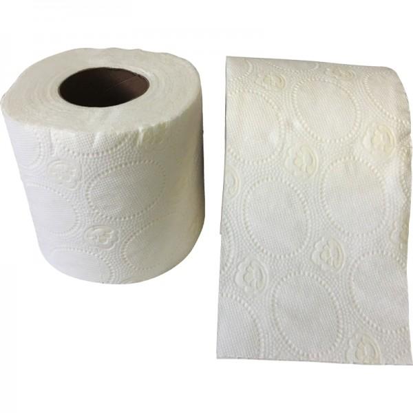 Papier hygiénique pure ouate blanche gaufrée 2 plis 160F