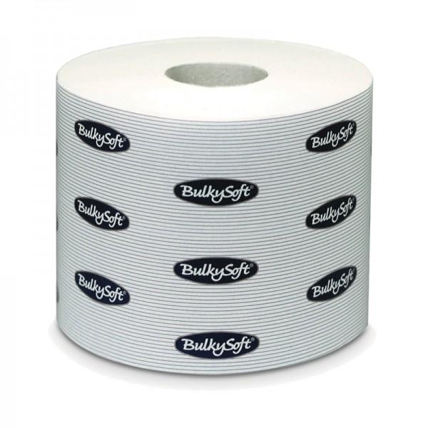 Papier hygiénique individuel pure ouate blanc gaufré 3 plis