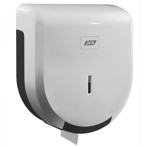 Dérouleur papier toilette mural blanc pour bobine maxi jumbo