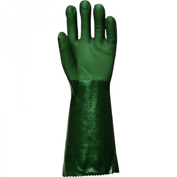 Gants polymère vert