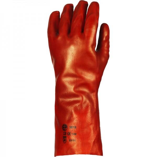 Gant PVC rouge