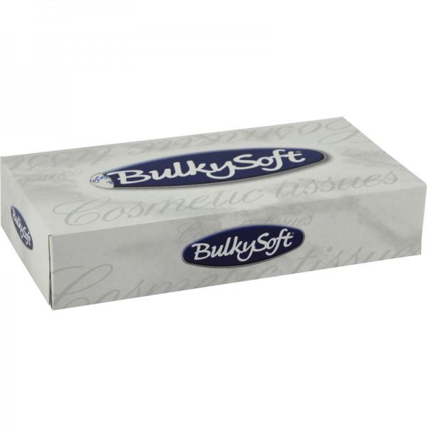 Boîte mouchoirs pure ouate blanche lisse 2 plis 22x23cm