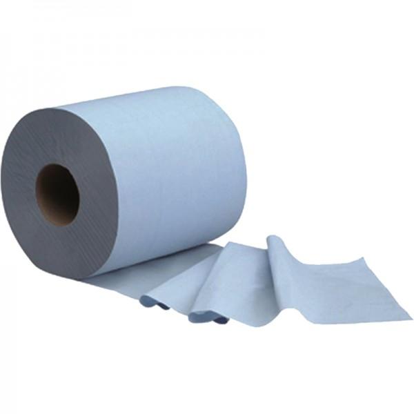 bobine bleue alimentaire gaufré 500 formats 3 plis