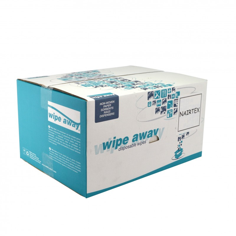 Chiffon non-tissé blanc très absorbant carton de 500F