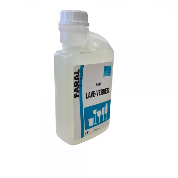 Liquide lave-verre - 1 litre