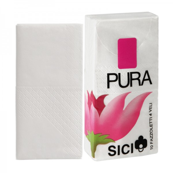 Paquet mouchoirs pure ouate blanche lisse 3 plis