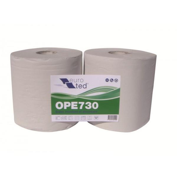 Bobine recyclée blanche type 1500F lisse 26 x 30cm