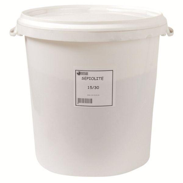 Absorbant sépiolite 15/30 - seau de 20 kg