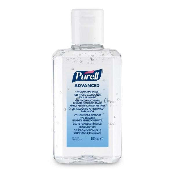 Gel hydroalcoolique inodore/incolore flacon 100ml