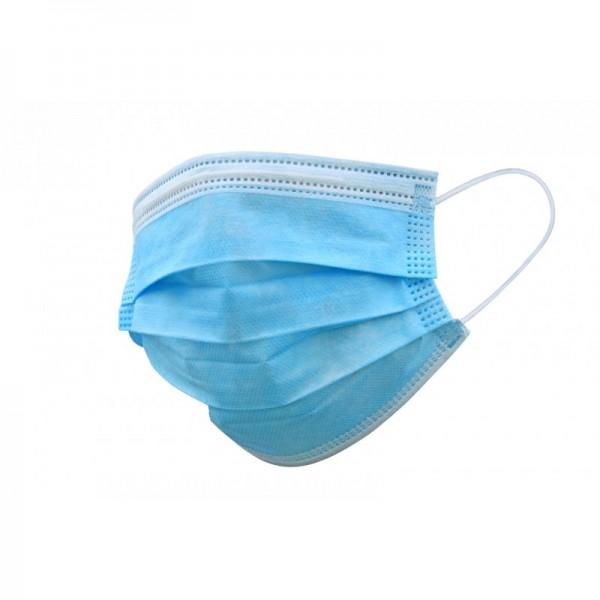 Masques chirurgicaux 3 plis type II R (EN 14683) 100 % francais