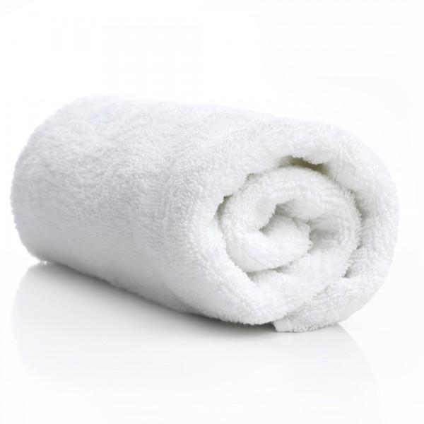 Chiffon serviette éponge blanche 100% coton