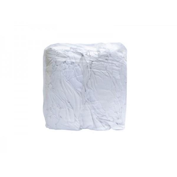 Chiffon 100 % coton blanc serviette éponge  sac de 8 kg