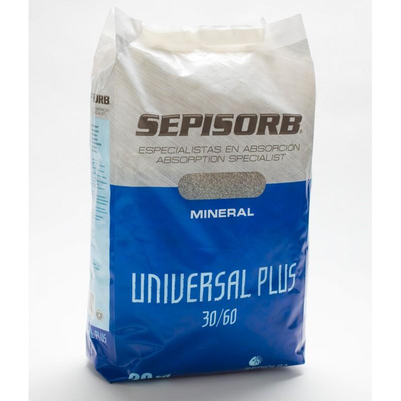 Absorbant sépiolite 30/60 - sac de 20kg