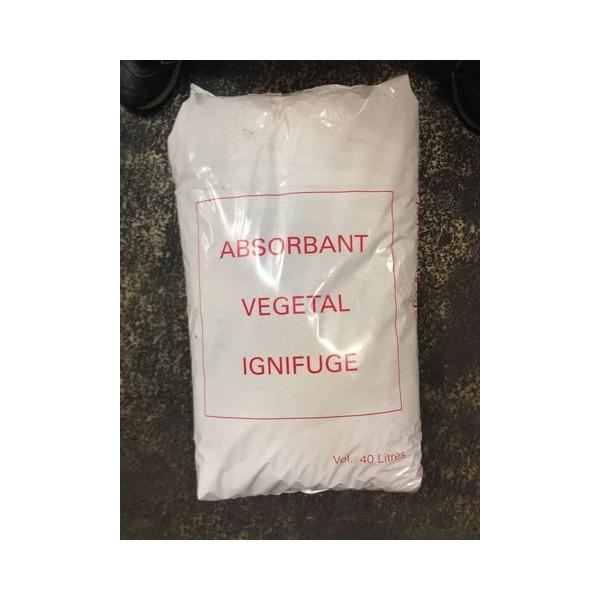 Sciure ignifugée non agrée DDE en sac de 40 litres