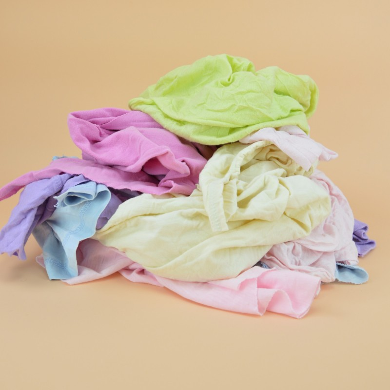 Chiffon coton tee shirt jersey clair pastel