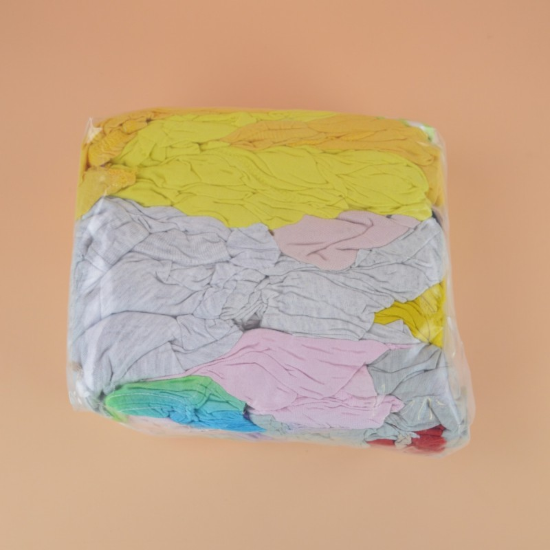 Chiffon coton tee shirt jersey clair pastel sac de 1kg