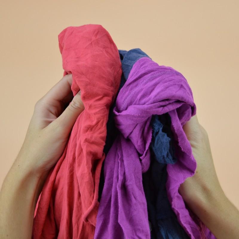 Chiffon  coton tee-shirt jersey  couleur