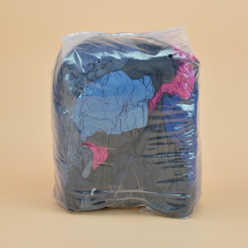 Chiffon coton couleur jersey tee-shirt sac de1kg