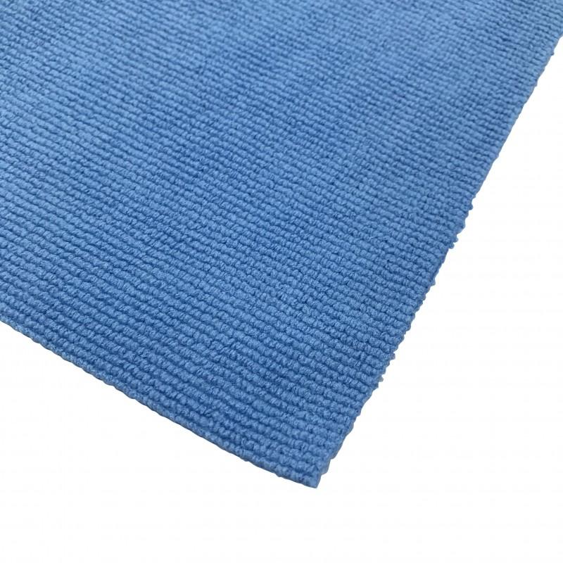 Chiffon microfibre bleu spécial lavage automobile 40 x 40 cm