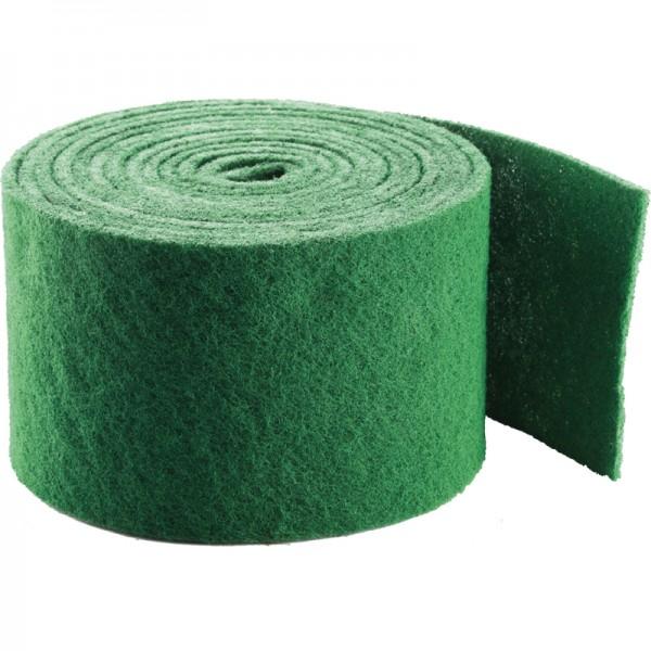 Rouleau de tampon abrasif vert - rouleau de 3 m