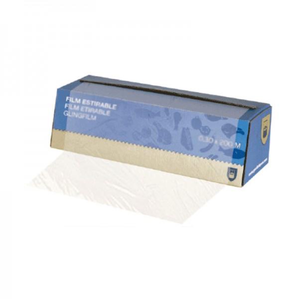 Film alimentaire en boite distributrice - 30 cm x 300 mètres