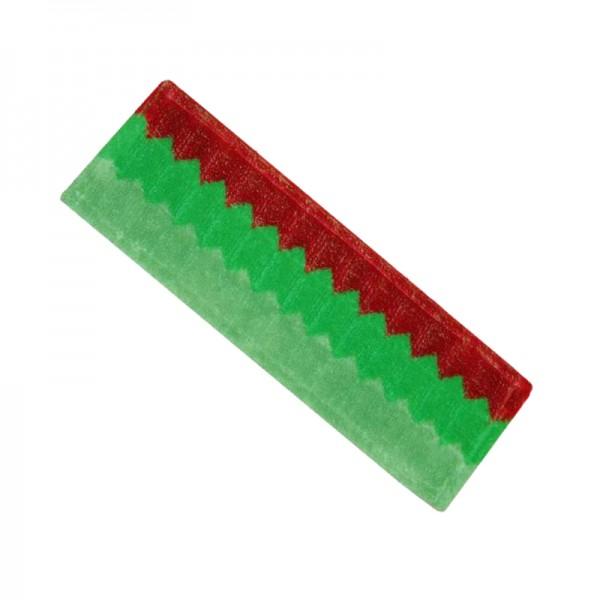 Frange de lavage à plat double action à poches et languettes - 45 cm
