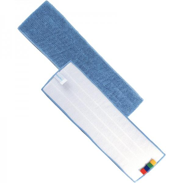 Frange de lavage à plat velcro microfibre - 130 x 440 mm
