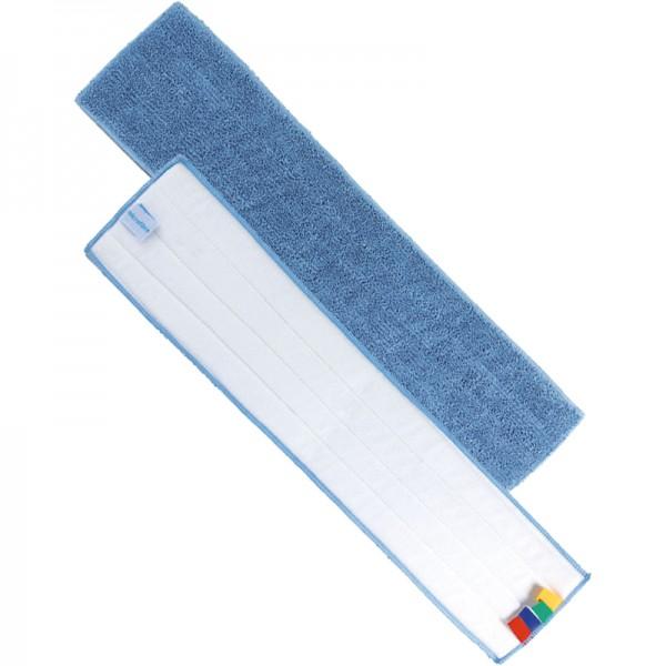 Frange de lavage à plat velcro microfibre - 130 x 640 mm