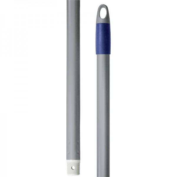 Manche à balai acier à vis - 140 cm x 24,5 mm