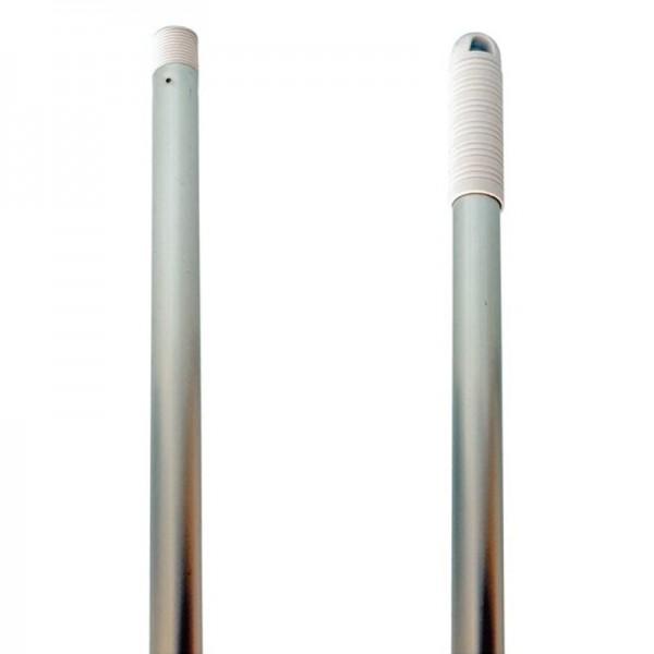 Manche à balai aluminium à douille - 140 cm x 23,5 mm