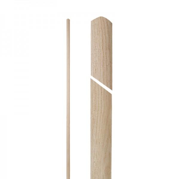 Manche à balai cantonnier bois - 140 cm x 27,5 mm