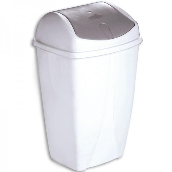 Poubelle 50 litres à couvercle basculant