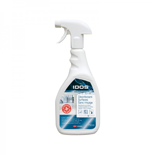 Spray désinfectant sans rinçage pour inox - 500 ml
