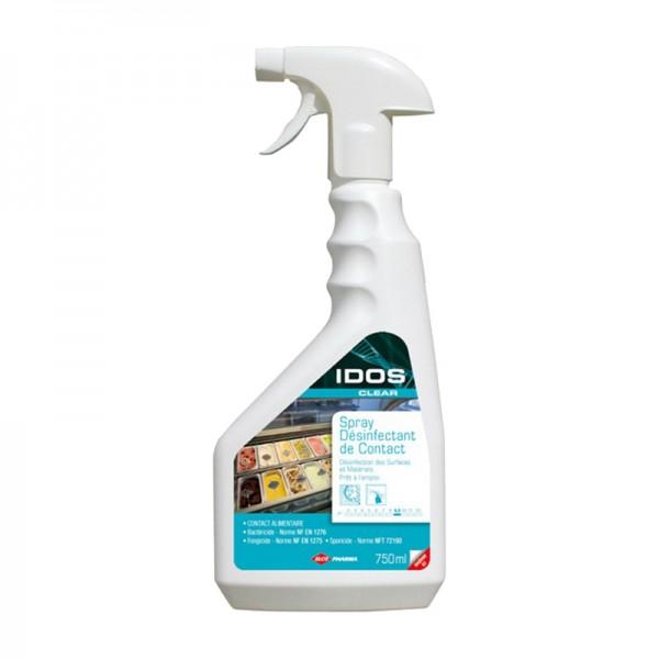 Désinfectant bactéricide, sporicide et fongicide HACCP - spray de 750 ml