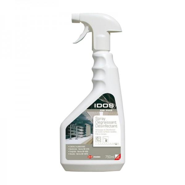 Dégraissant et désinfectant HACCP prêt à l'emploi - spray de 750 ml
