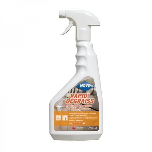 Dégraissant rapide multi-surfaces HACCP - spray de 750 ml