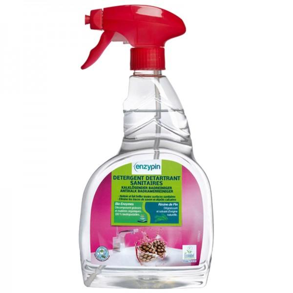 Détergent détartrant pour sanitaires Ecolabel - spray de 750 ml
