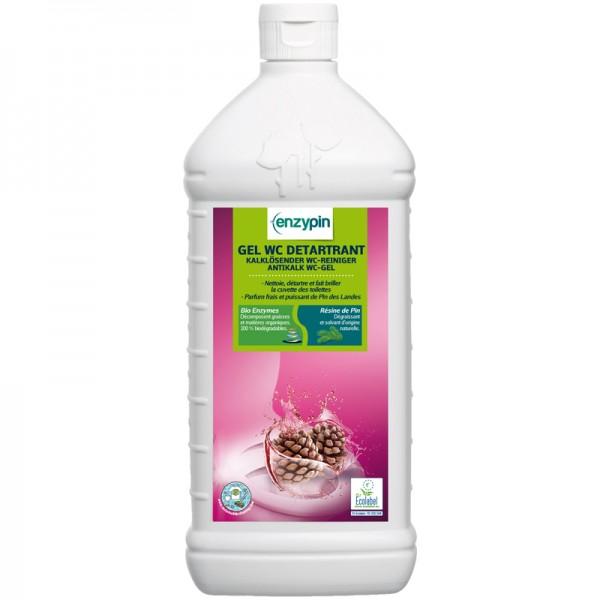 Gel détartrant pour sanitaires Ecolabel - flacon de 1 L