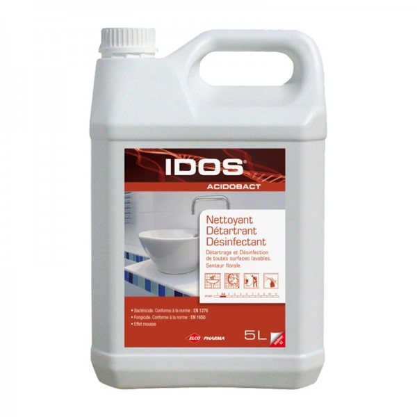 Nettoyant détartrant et désinfectant pour sanitaires - bidon de 5 L