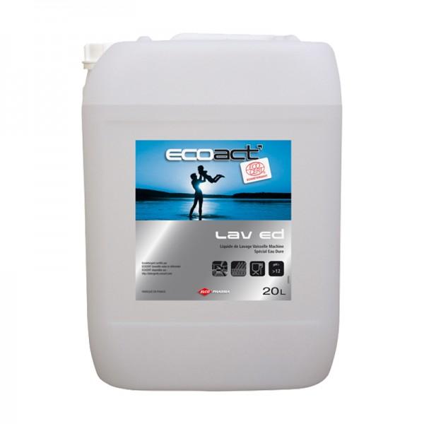 Liquide pour lave-vaisselle eau dure - bidon de 20 L