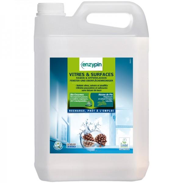 Nettoyant pour vitre Ecolabel - bidon de 5 L